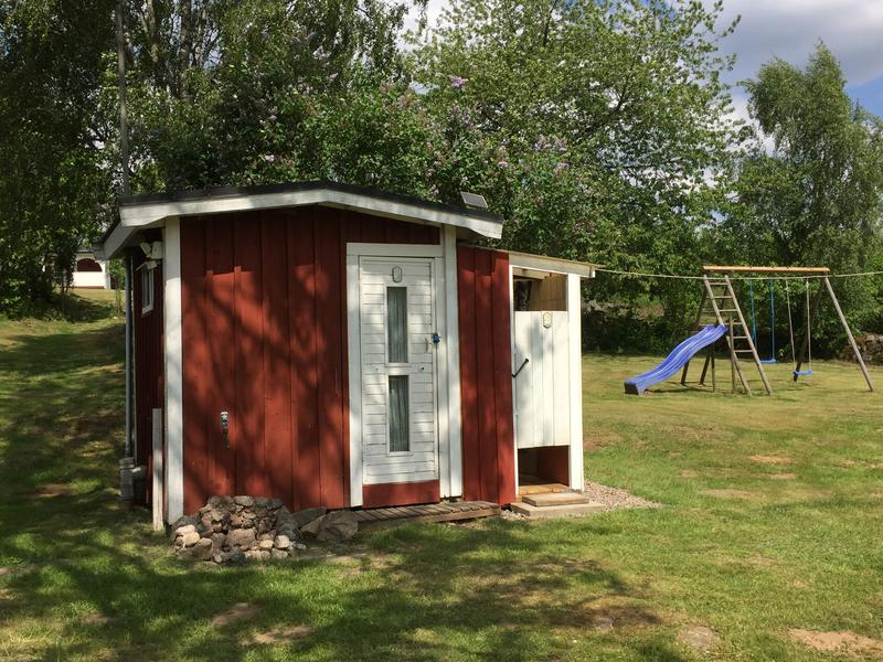 Tent pitch in the Swedish countryside near lakes and forests #4
