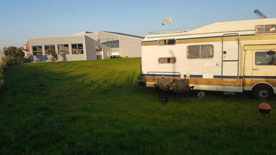 Parking space for self-sufficient mobile homes in Husum / North Sea #1